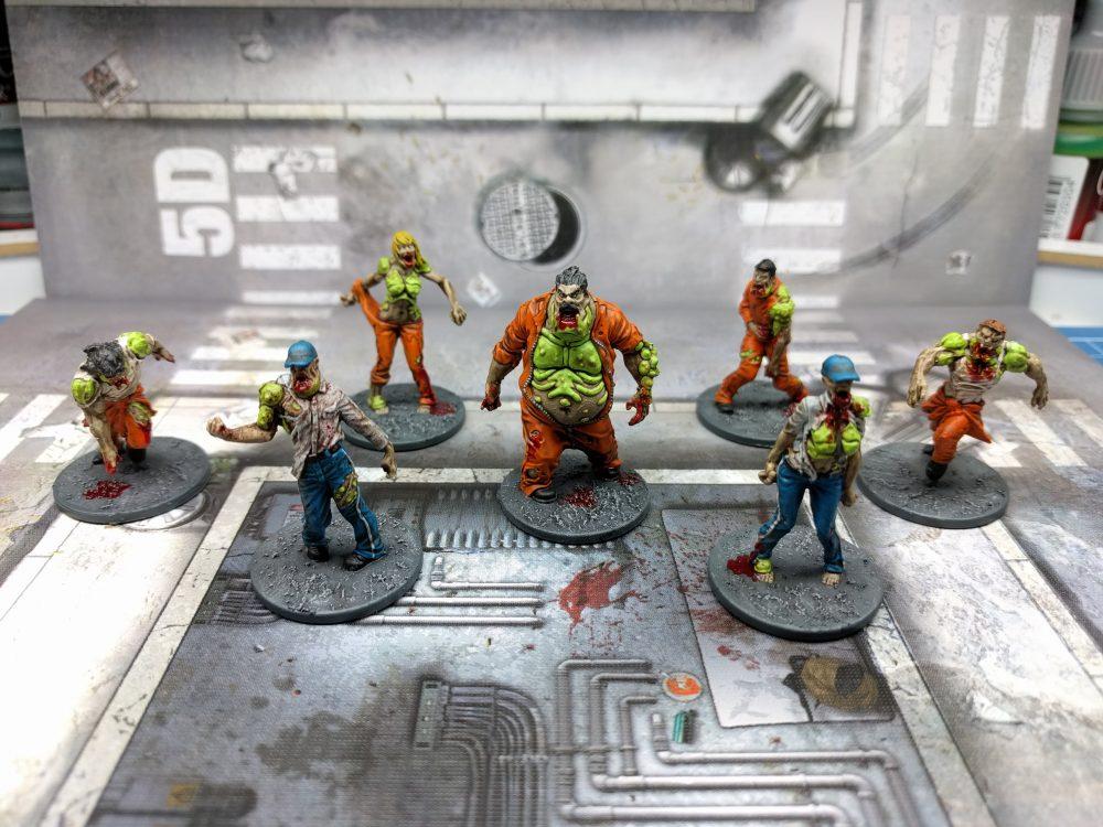 como pintar zombies berserker zombicide