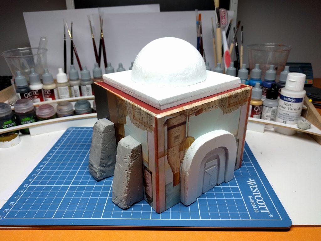 Tutorial: How to create Tatooine scenery - Star Wars: Legion