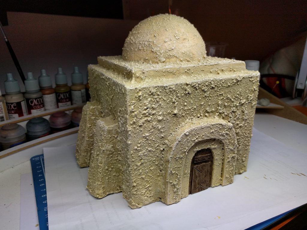 Tutorial: How to create Tatooine scenery - Star Wars: Legion - FFG